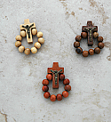 BA8621 - Brazilian Wood Rosary Ring