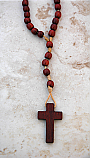 BTE01 - Brazilian Wood Rosary