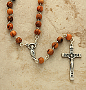 HLROWW - Olive Wood Rosary