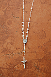SSN40 - Sterling Silver Miraculous Medal on Sterling Silver Chain