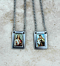 BVE105 - Brazilian Stainless Steel Scapular, Color Pictures