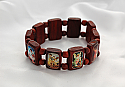 BVP150A - Brazilian Wood Bracelet, Angels