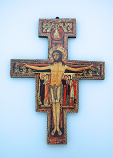 GG5 - Greek San Damiano Cross, 9 1/2 in.