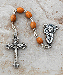 DR40 - Italian Olive Wood Rosary
