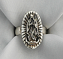 LAR5 - Sterling Silver Ring, Guadalupe