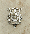 SS44 - Sterling Silver Center, St. Gabriel of the Passionists, 1 1/4 in.